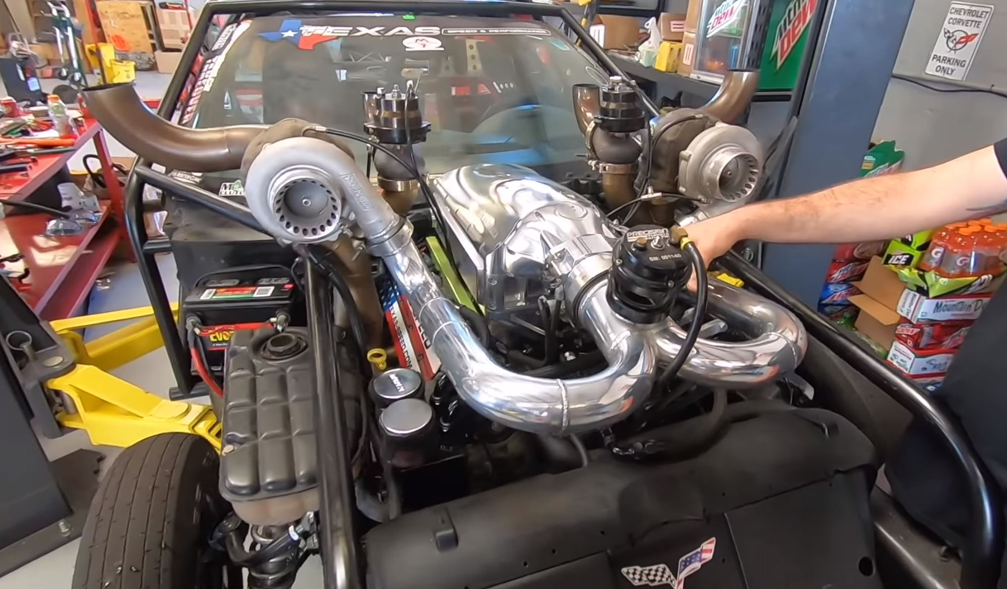 Leroy 2.5 Comes To Life! The New Engine Sounds Amazing And Is Ready For Big Boost