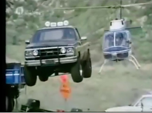 Jumping Glory Video: Watch Every Awesome Jump The Mid-Engine Fall Guy GMC Made On TV!