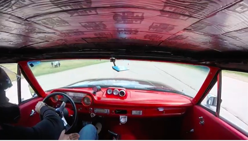 Ride Along In An Awesome 1964 Galaxie As It Gets Hammered Around A High Speed Autocross