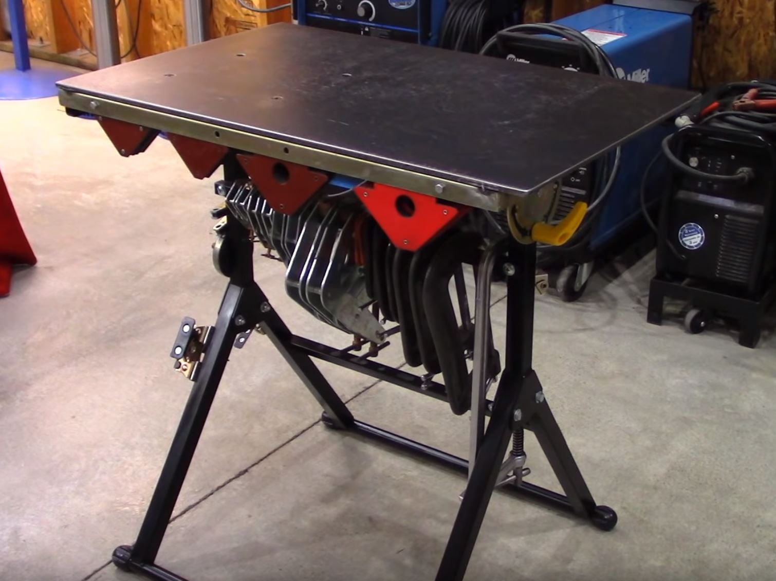 Harbor Freight Welding Table Hack: How To Make This Cheap Little Table Kind Of Bad Ass