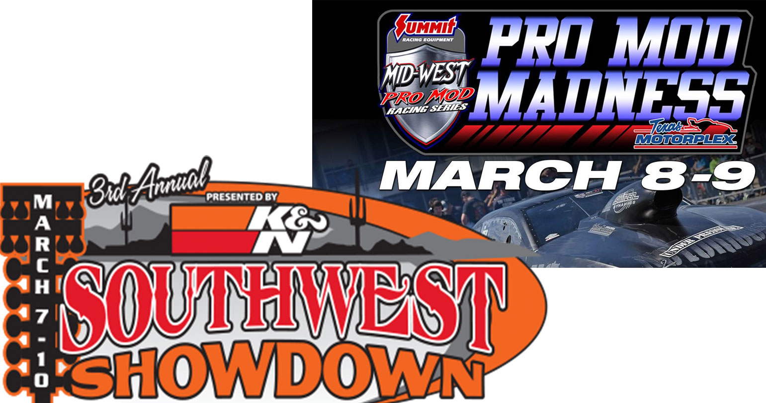 BANGshift LIVE Drag Racing Double Header Weekend! Pro Mods In Texas And Bracket Racing In Arizona!