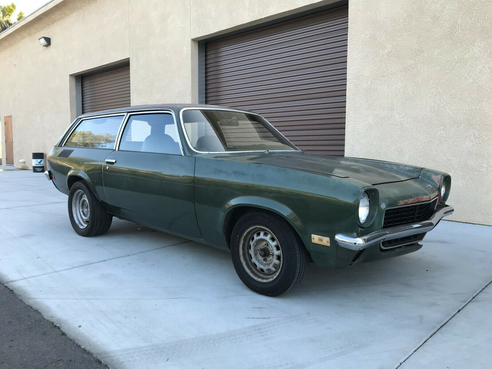 This 1971 Vega Kammback Wagon Is The Ultimate Sleeper With An LS Swap And Rad Patina