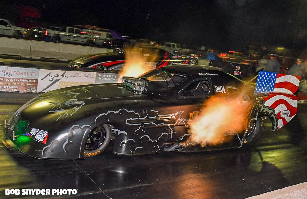 Drag Coverage: Middendorf Gets First Win At Funny Car Chaos In Denton, Texas! – ACTION PHOTOS HERE!