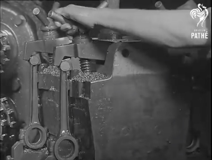 Video: Here's How A Morris Car Engine Was Built From Scratch In 1930s England!