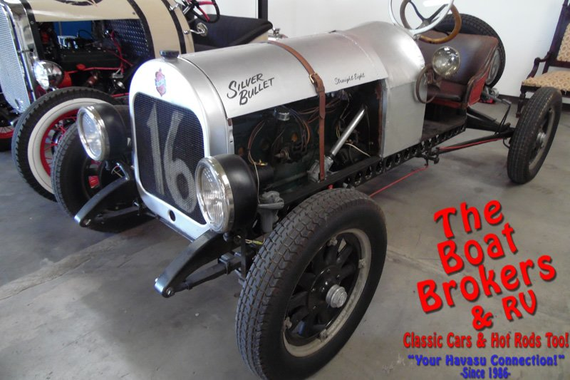 Prehistoric Hot Rod: This 1916 Olds Has A Pontiac Straight 8 And Not Much Else