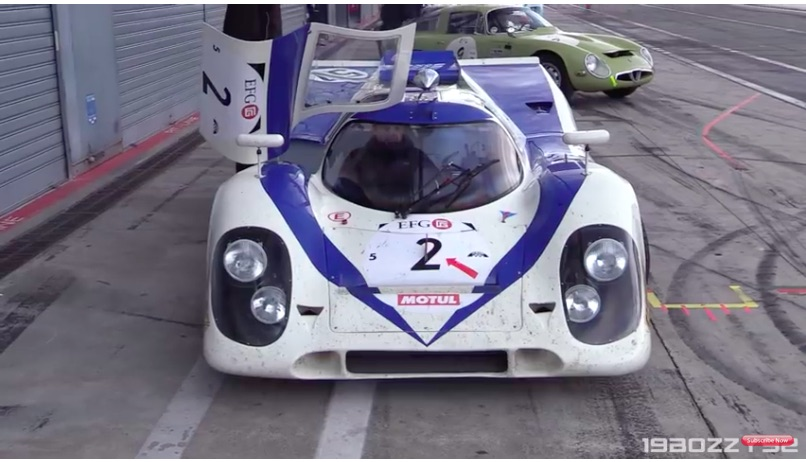 Morning Symphony: Listen To This 1970 Porsche 917K Hit The Track And Scream Like The Devil
