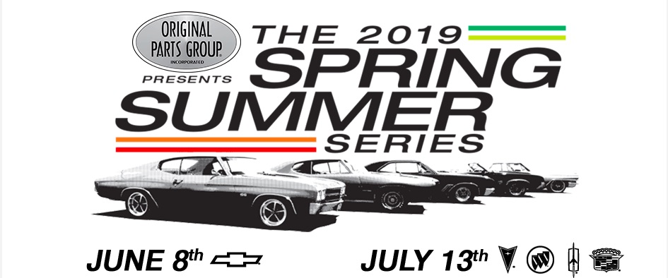 The 2019 OPGI Spring Summer Series Is On The Way – June and July Cars Show In Seal Beach, California