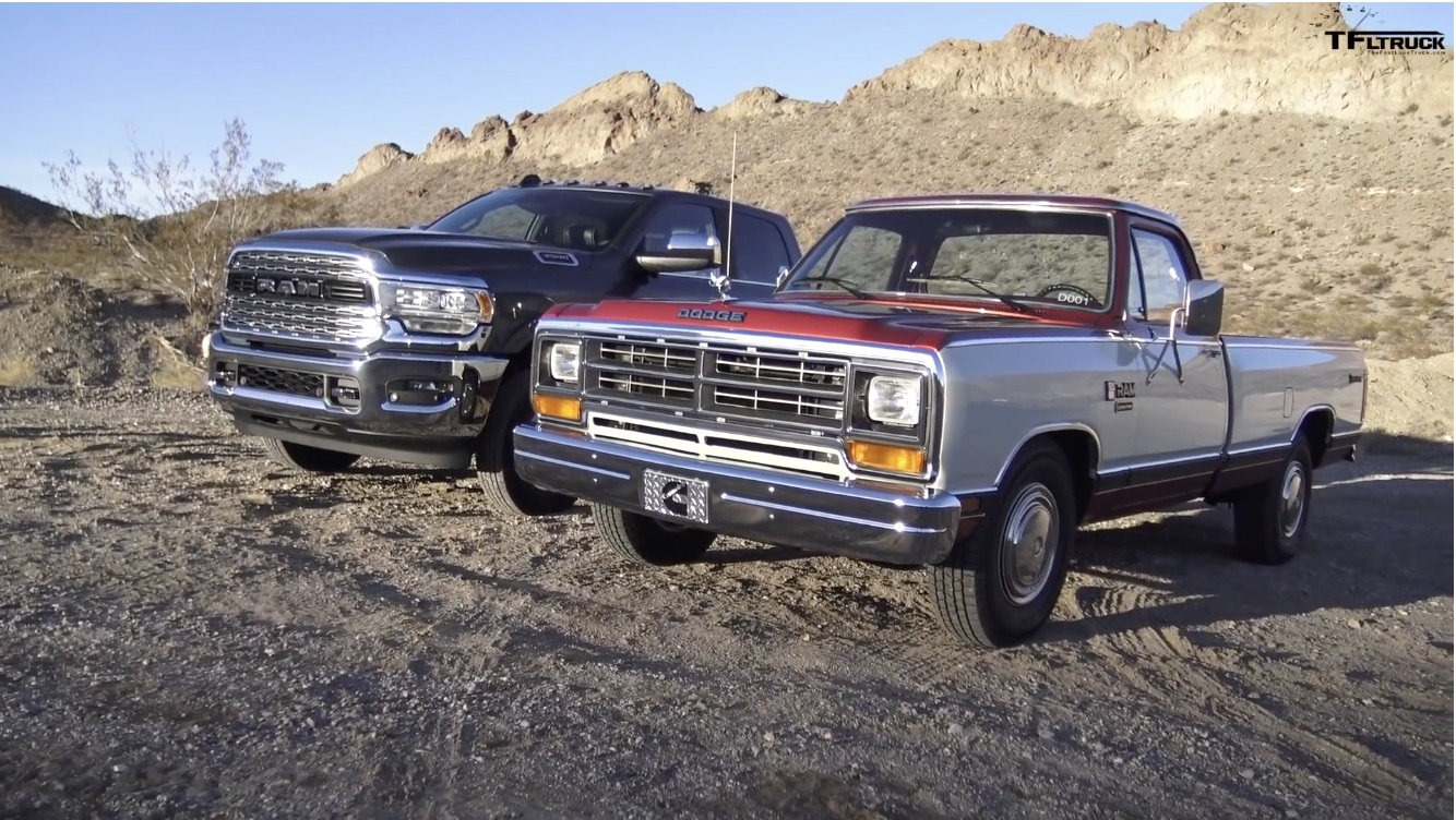 Then Vs. Now: Putting The Very First Cummins Ram Against The Latest