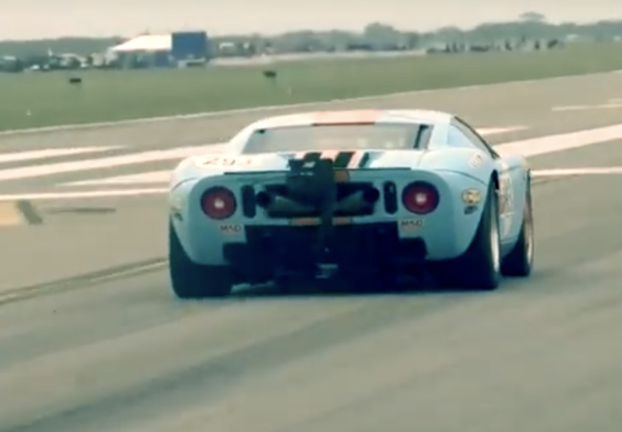 Just Gone: M2K Motorsports' Ford GT Runs 300.4 MPH At The Texas Mile