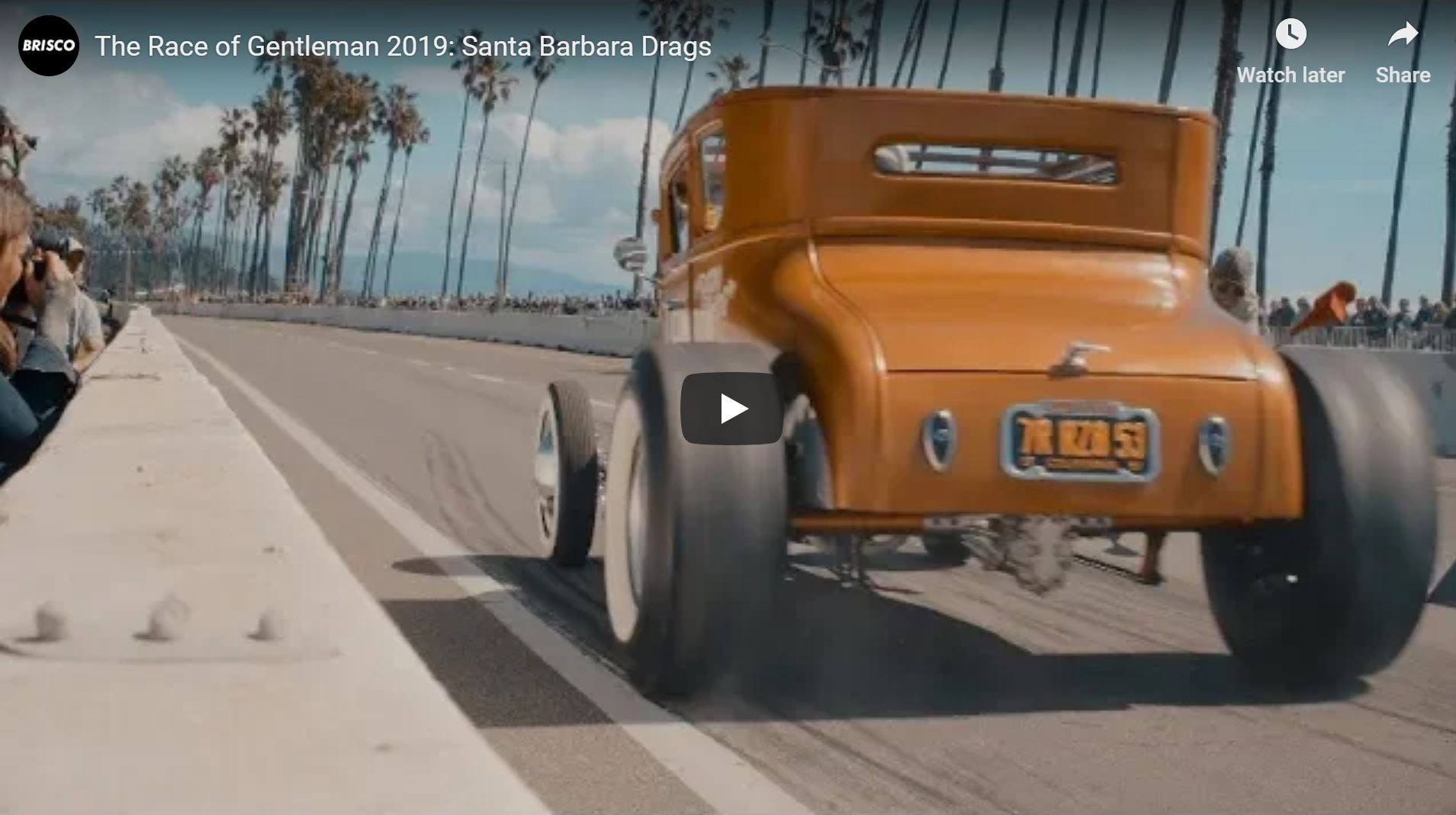 The Race Of Gentlemen Santa Barbara Drags: TROG Comes West And It Ruled!