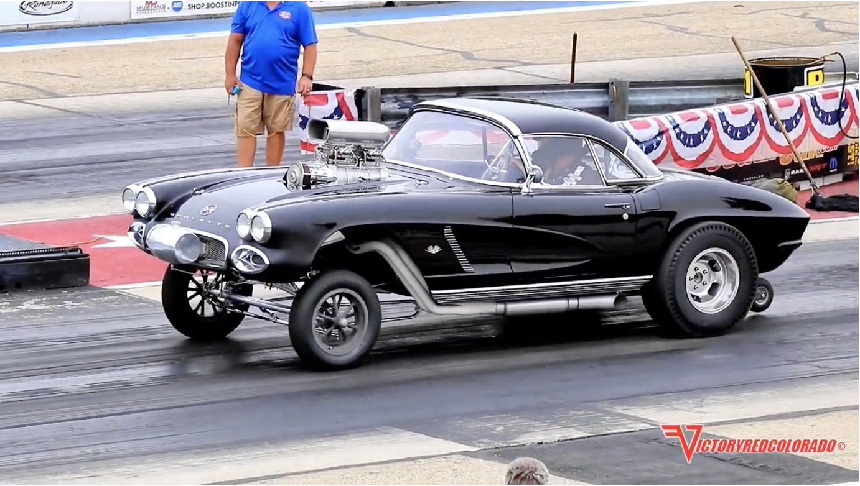 1966 Or Older Allowed: Pie Crust Slick Racing At Byron!