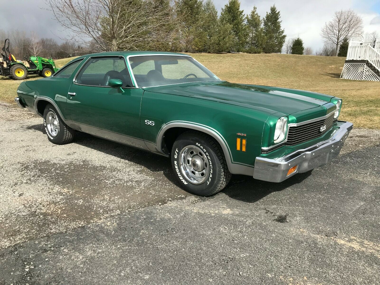 Springtime Green: It's Not Everyday A 1973 Chevrolet Chevelle SS454 Pops Up!