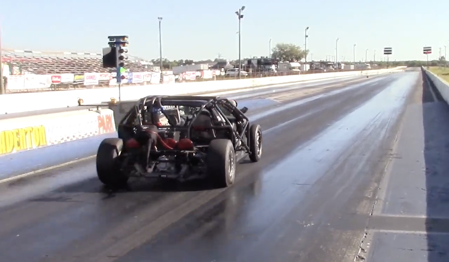 Seven Seconds? Cleetus Takes The Newly Re-Engined Leroy Back TO The Track!