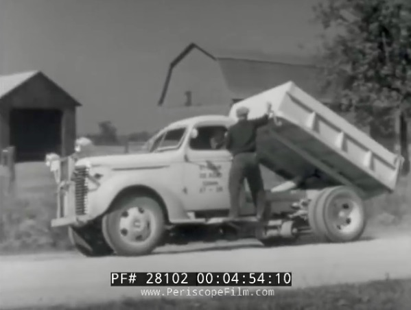 Transportation Unlimited: This 1949 Chevrolet Film Highlights An Incredible Array Of 1930s and 40s Chevy Heavy Duty Trucks!