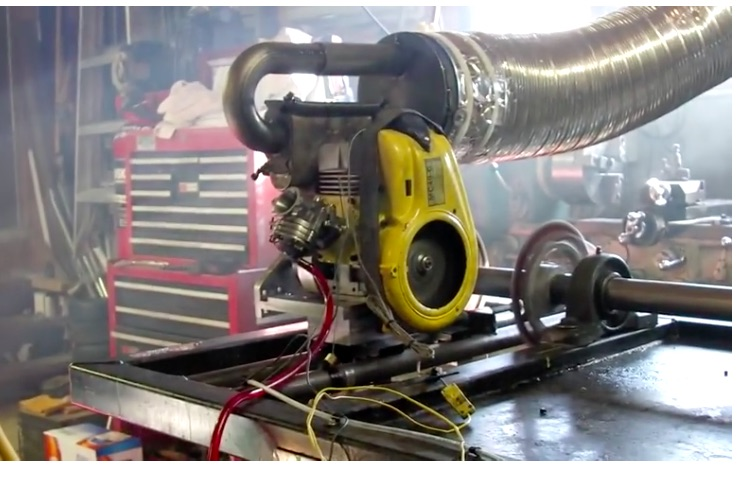 Watch This Modified Vintage McCulloch MC49 Kart Engine Make Dyno Pulls!