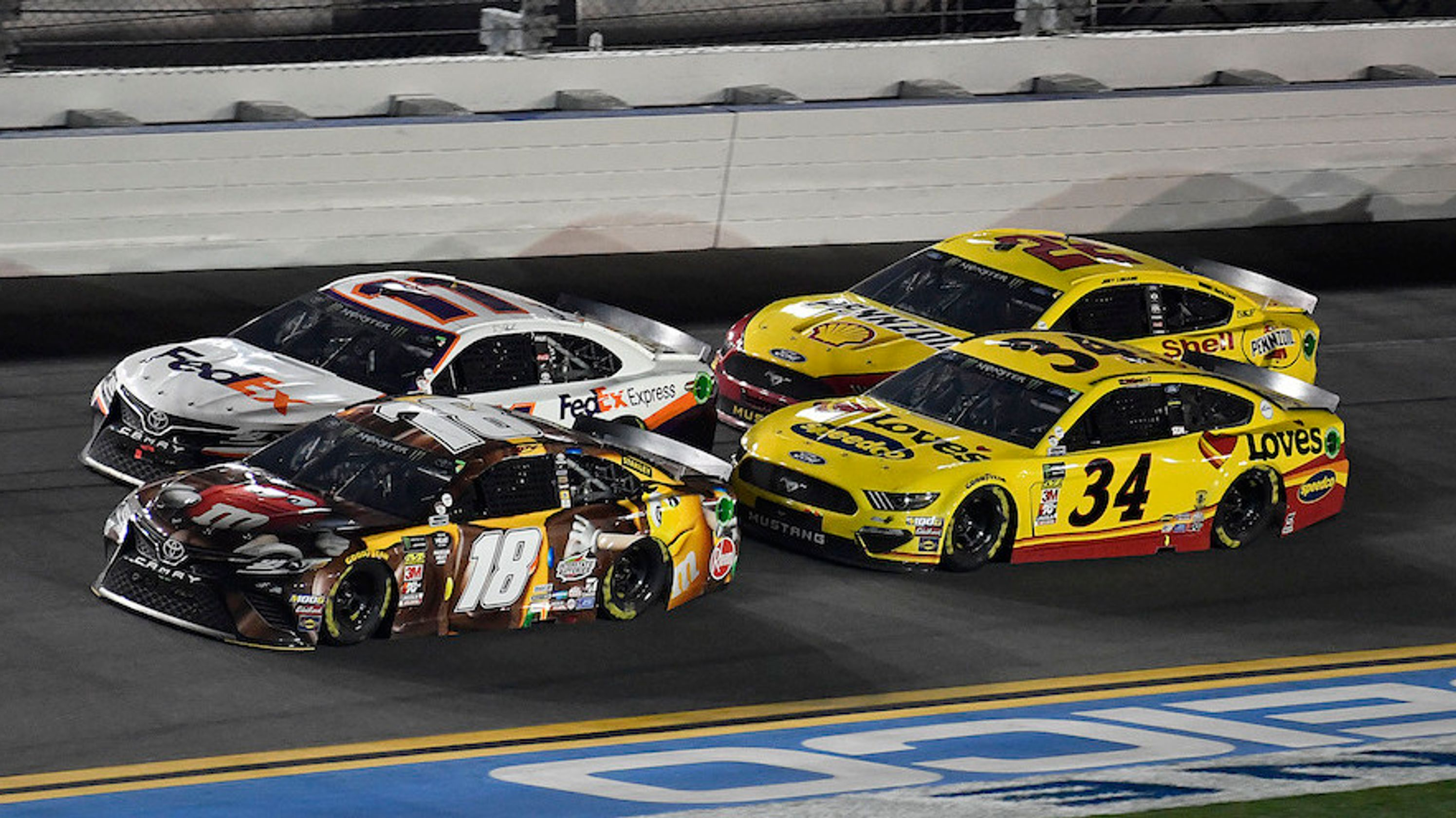 Get Along Kids: Ford Racing Executives Had To Get Involved With Driver Squabbles After The Daytona 500