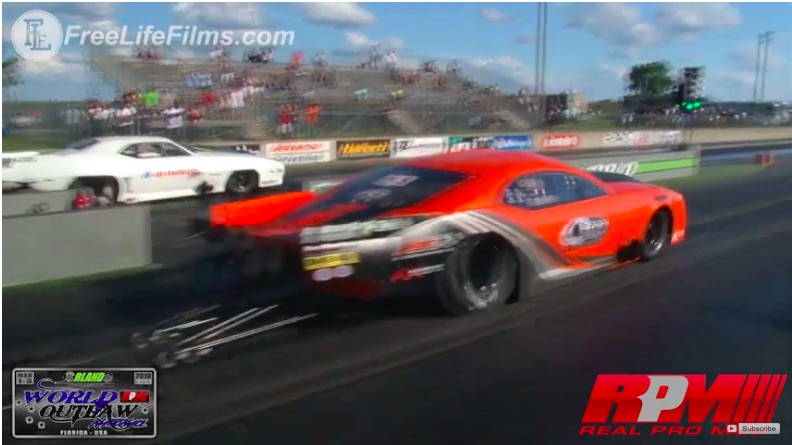 Crazy Close: Watch Sidnei Frigo and Jose Gonzales Run IDENTICAL Speeds and Elapsed Times On The Same Pass!