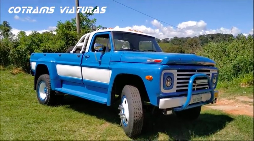 Radical Truck Video: This 1973 Ford F600 Custom Pickup Is Absolutely Cool!