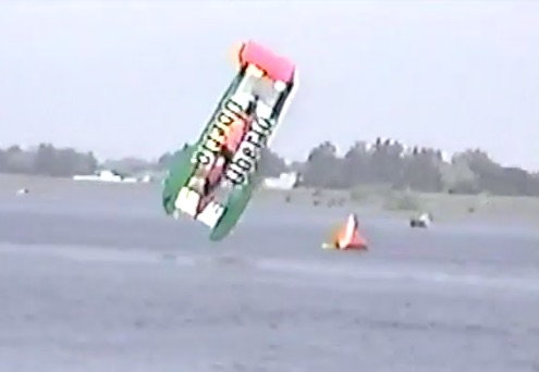 Oh, Boy: The 1994 Hydroplane Blowover Of The Oh Boy! Oberto Unlimited At Tri-Cities!