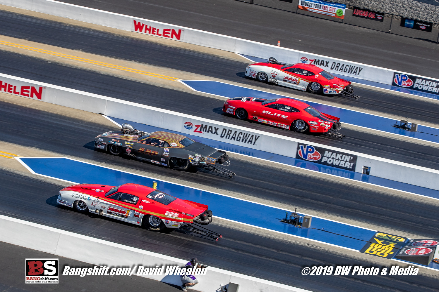 2019 NGK NHRA 4-Wide Nationals Coverage: Pro Mod Quads! The Doorslammers Go Four Wide