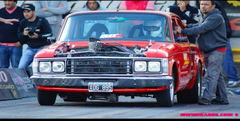The Muscle Of Argentina: This Video Shows Some of The Country's Cool Drag Racing Iron!