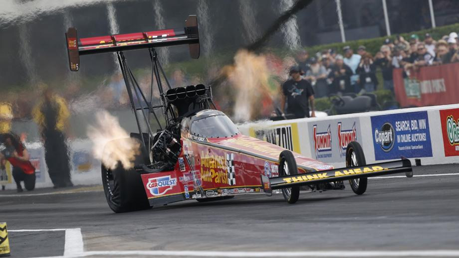 The Force Family Takes The Top Spot In Both Funny Car And Top Fuel At Houston's NHRA SpringNationals