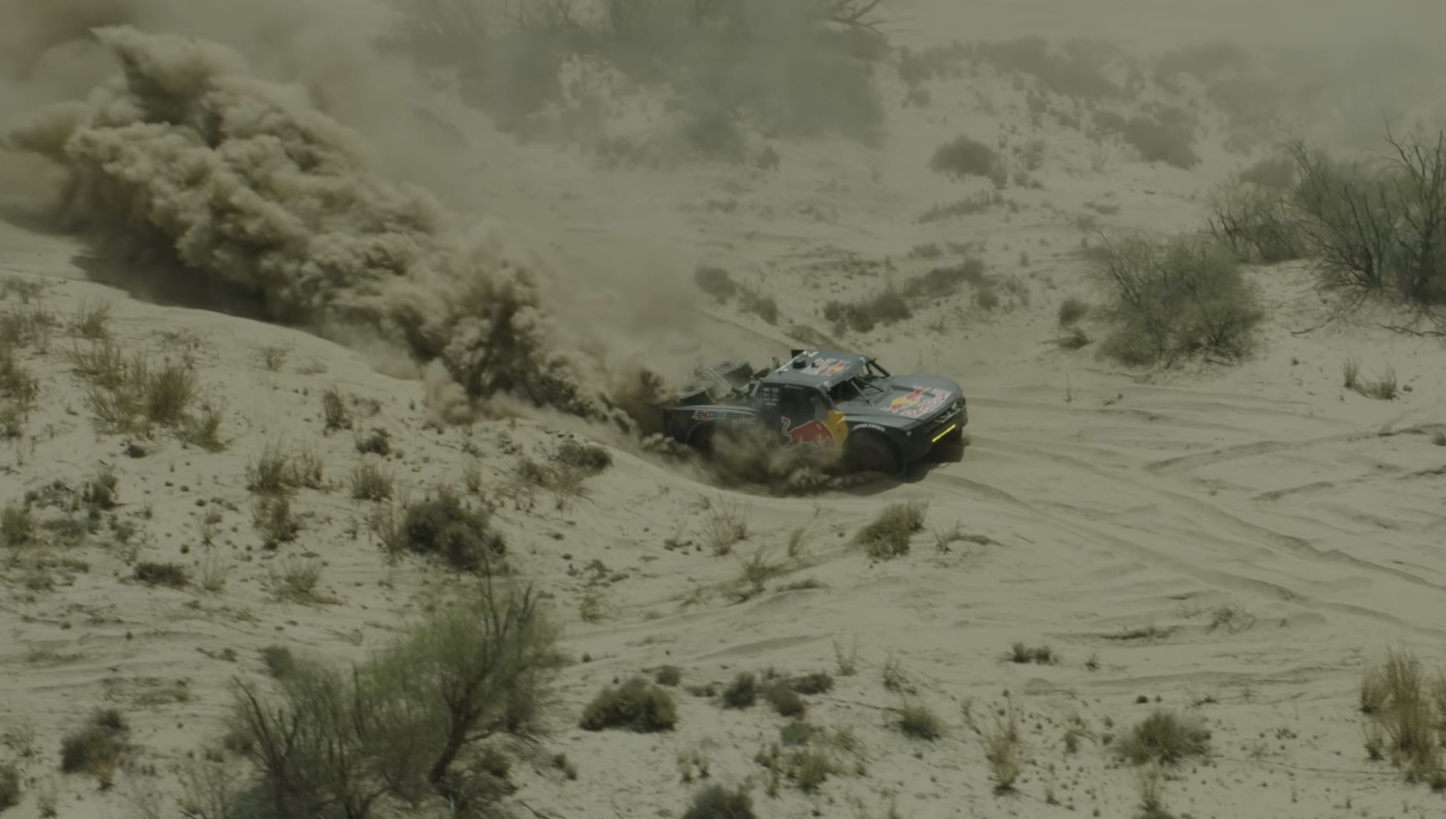 Watch Bryce Menzies Running His Bad Ass Red Bull Ford In The SCORE San Felipe 250
