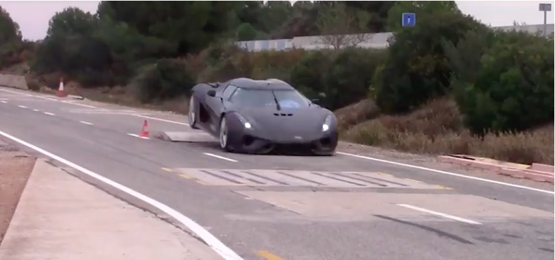 Video: The Crash Testing Procedure For A $2 Million Koenigsegg Hypercar Is Painful And Amazing