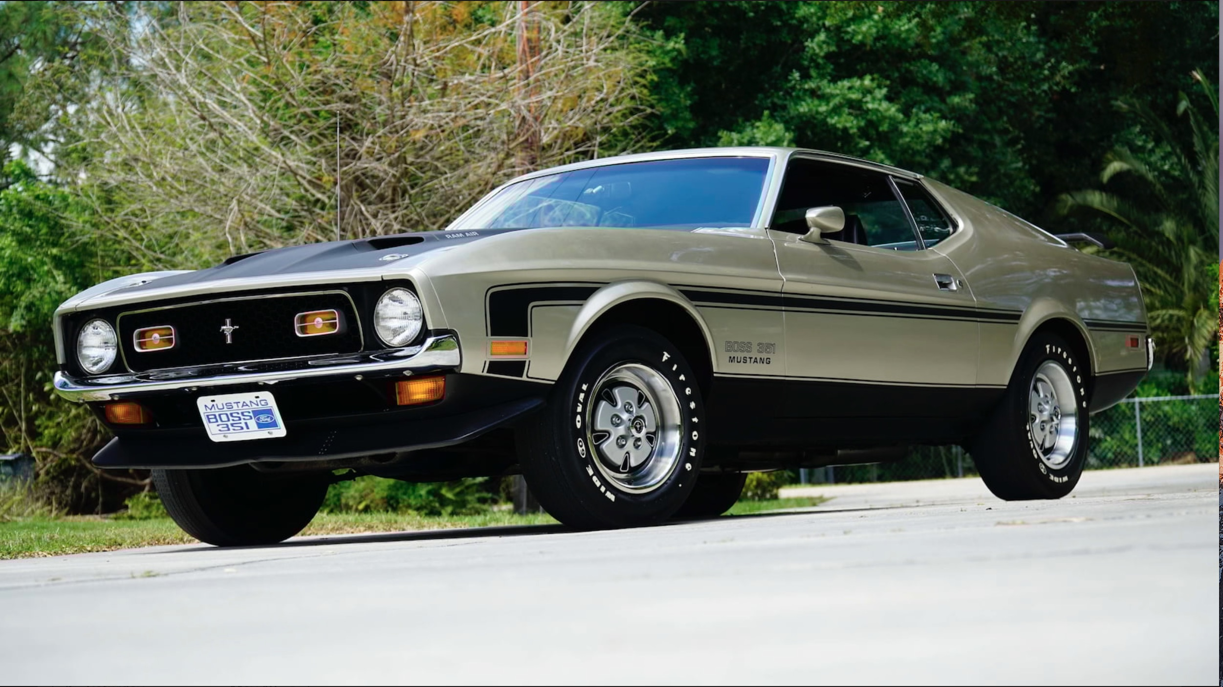 Monday Shopper: 1971 Ford Mustang Boss 351 – When You Want To Mess With Everyone's Head!