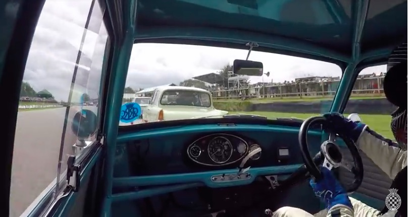 Five Minutes of Fury: Ride Along Inside This Classic Mini As It Battles Tooth And Nail On The Road Course