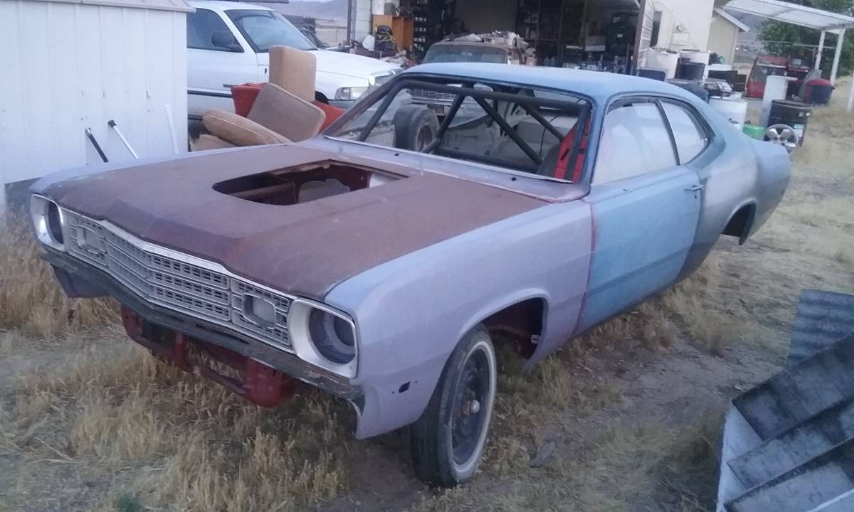 I'm Not Saying It Would Be Cheap, But Can This Back Half Duster Drag Car Project Be Saved?