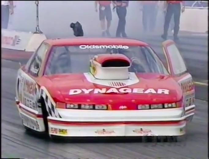 The Bad Old Days: Watch The Pro Stock Swan Dive Nationals From 1995 – Steve Evans Loses It!