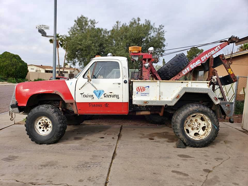 Rough Start: The Beast! This Dodge Tow Truck Is The Ugly Mother Of Your Dreams!