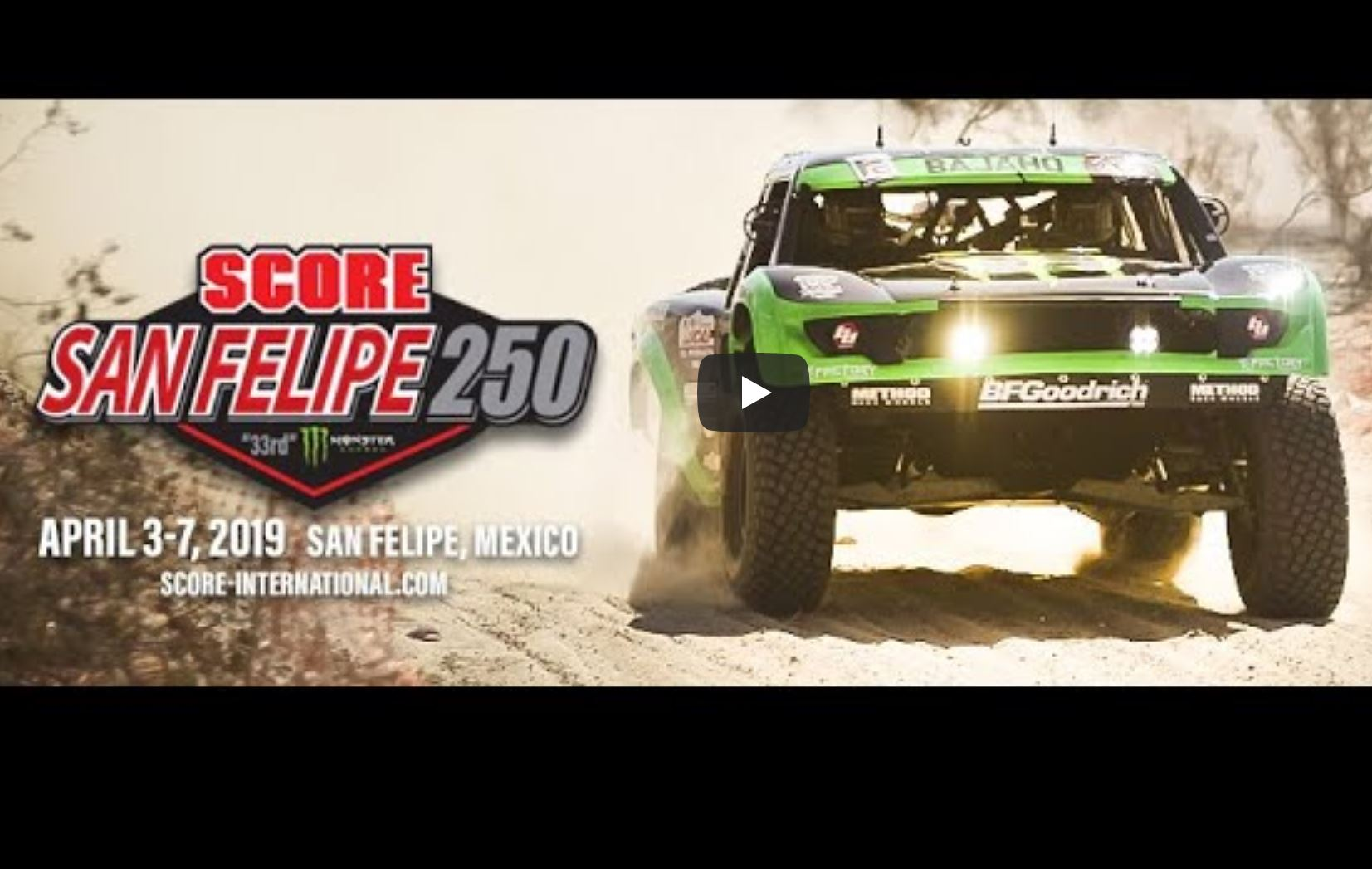 The SCORE International San Felipe 250 Is LIVE Right Now! Off-Road Racing At It's Finest!