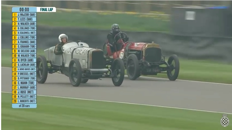 Now That's Racin': Watch These Two 100 Year Old Cars Duel To The Finish At Goodwood – Sunbeam vs Vauxhall