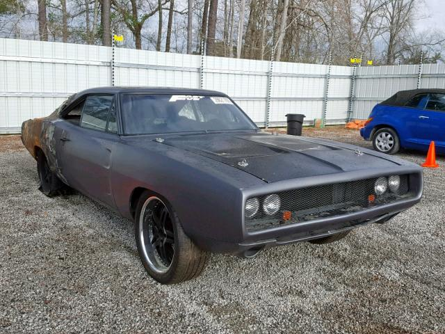 Copart Cadavers: 1969 Dodge Charger With A Nice Char