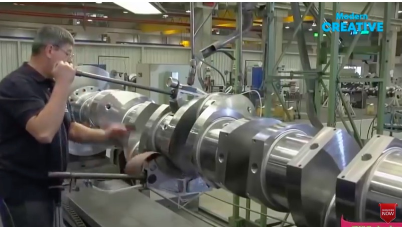 This Video Featuring The Manufacturing Of Huge Springs, Cranks, and Other Massive Metalwork Rules