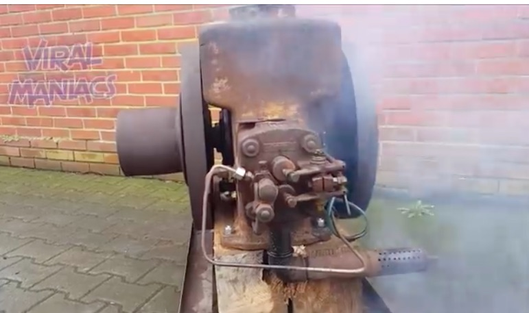 Video: Ancient Engines Live Again – Watch These Internal Combustion Relics Huff and Puff, and Chuff
