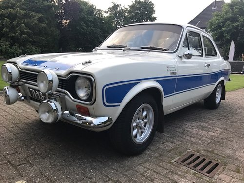 Old School Rally God: This 1974 Ford Escort Mk1 RS2000 Can Be Yours