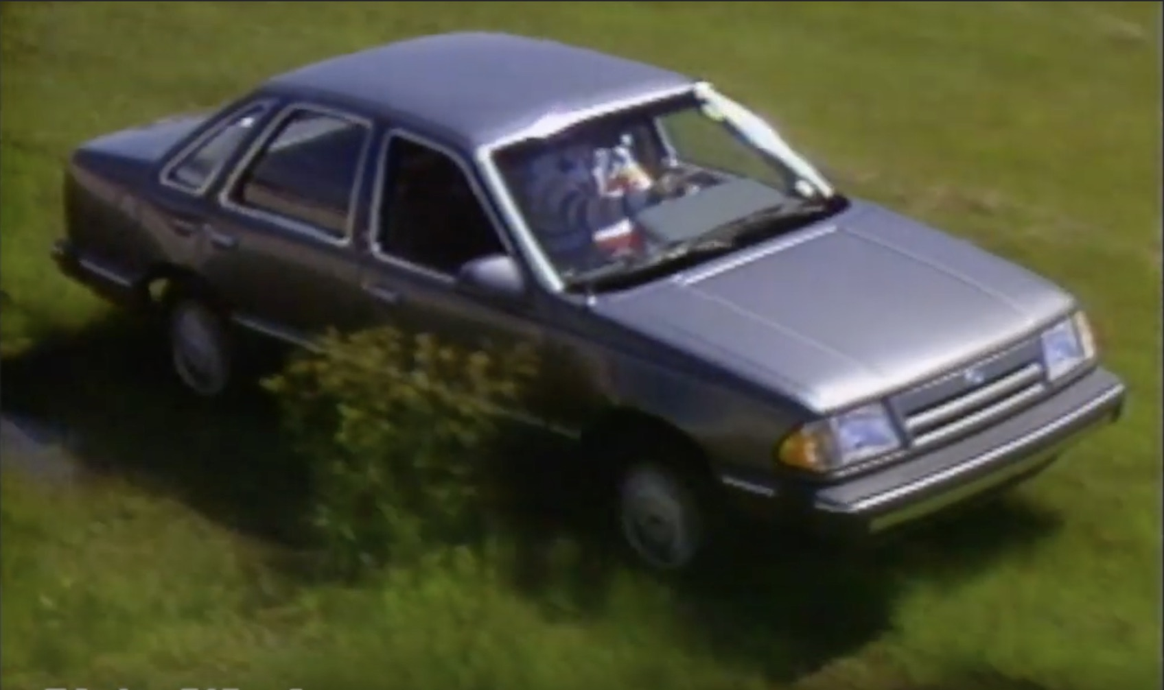 All-Wheel-Drive Flashback: The Day MotorWeek Took A Ford Tempo Into The Mud