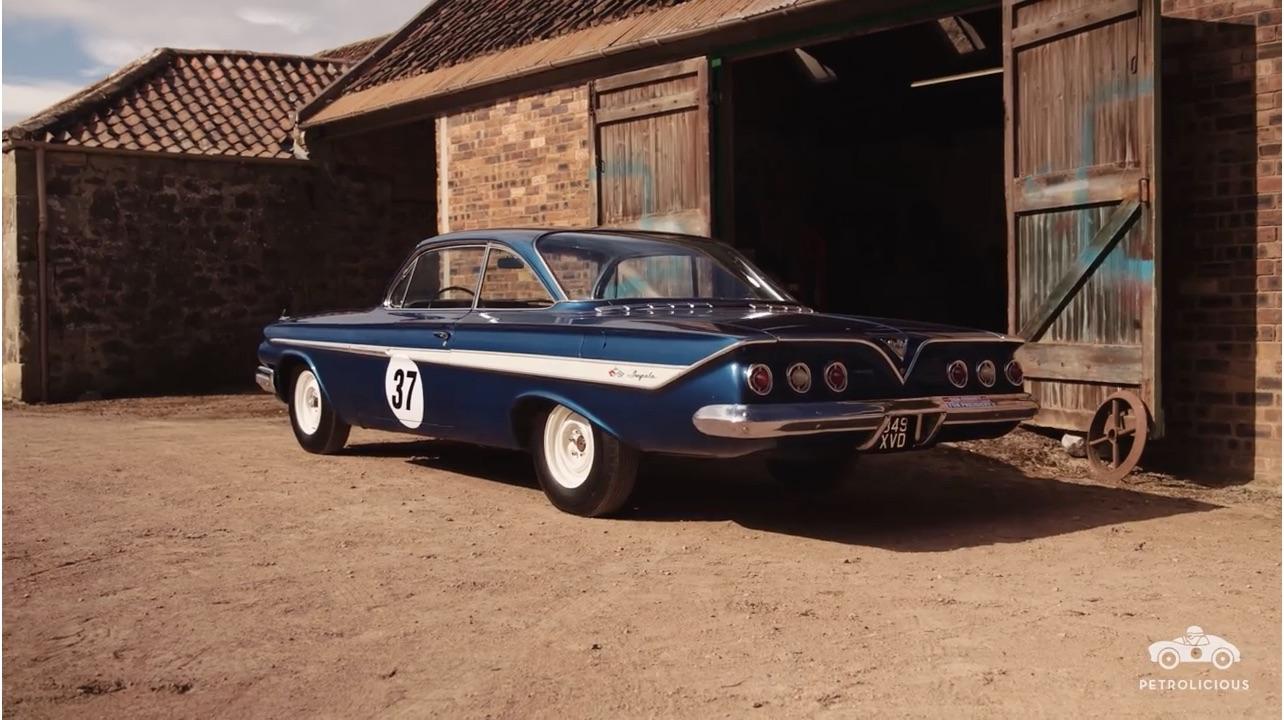 American Badass: Petrolicious Takes A Look At Dan Gurney's 1961 Impala Racer