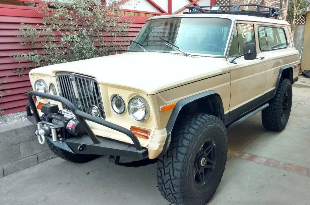 This LS Swapped Jeep Wagoneer Is Off-Road Family Fun In A Plain Tan Wrapper…And We Love It