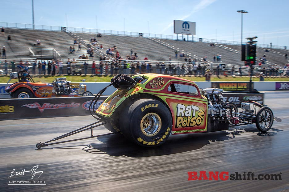 Drag Racing Action Photos: Throwing Down Old School At The Restoration Reunion In Virginia