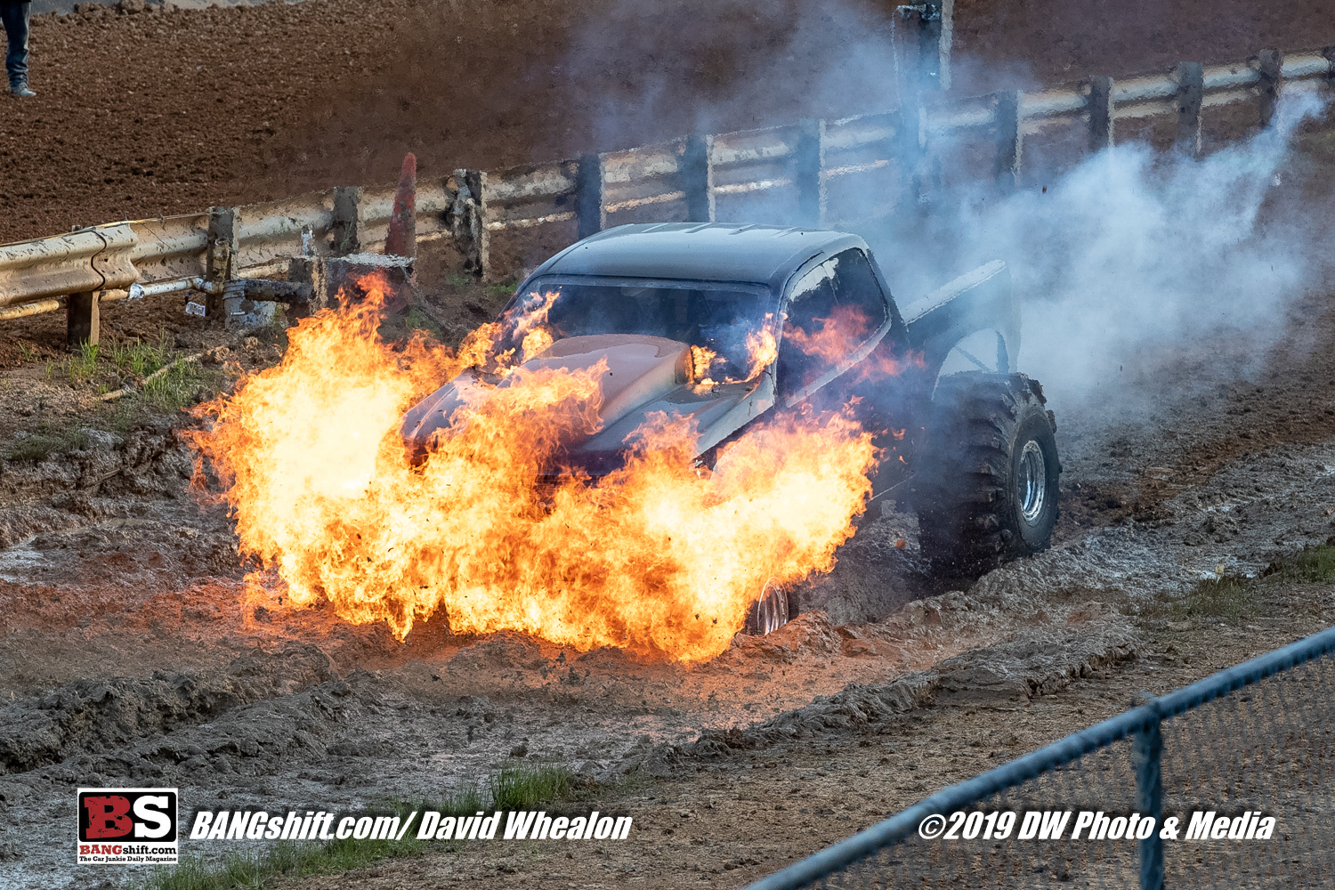 Mud Chuckin' Action Photos: Blown Alcohol Madness and The Fastest of The Fast At Lee County Mud Motorsports Complex!