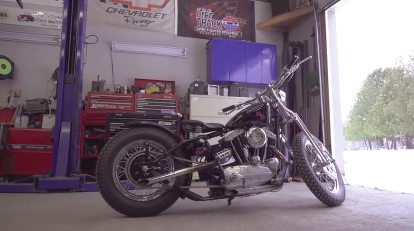 4 Minute Thrash: Watch A Classic Customized 1957 Harley Get Completely Torn Down And Rebuilt In Minutes