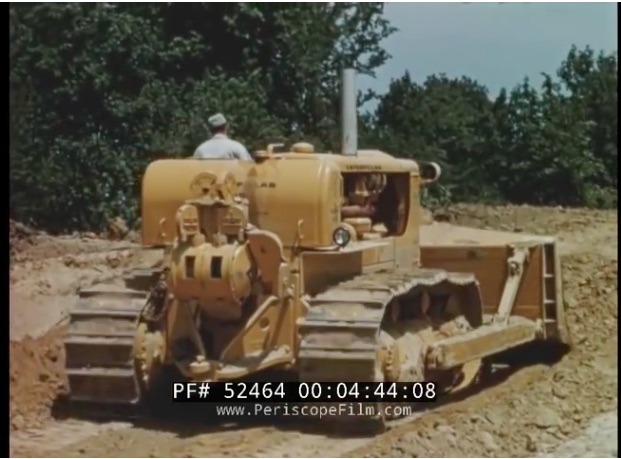 There Once Were Giants: This 1950s Video Showing Off The New Caterpillar D9 Shows The Beginning Of Massive Earthmovers