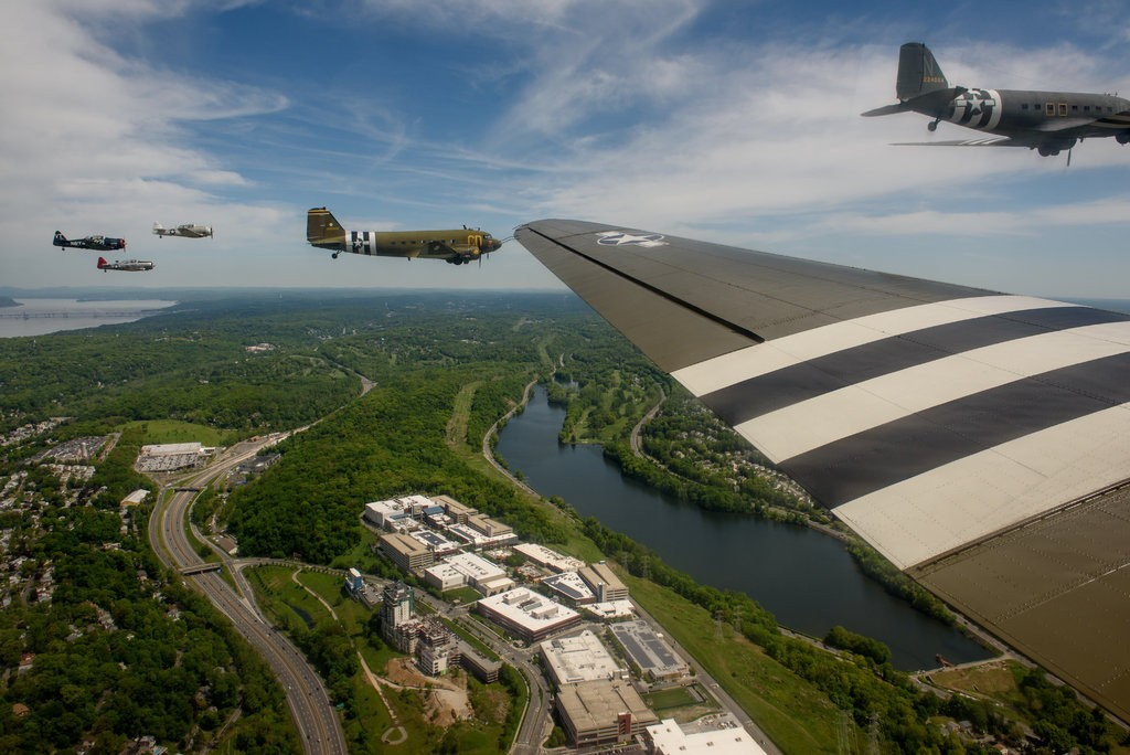 Living History: The Incredible D-Day Squadron of WWII Airplanes Is Heading To France For The 75th Anniversary – Going The Hard Way