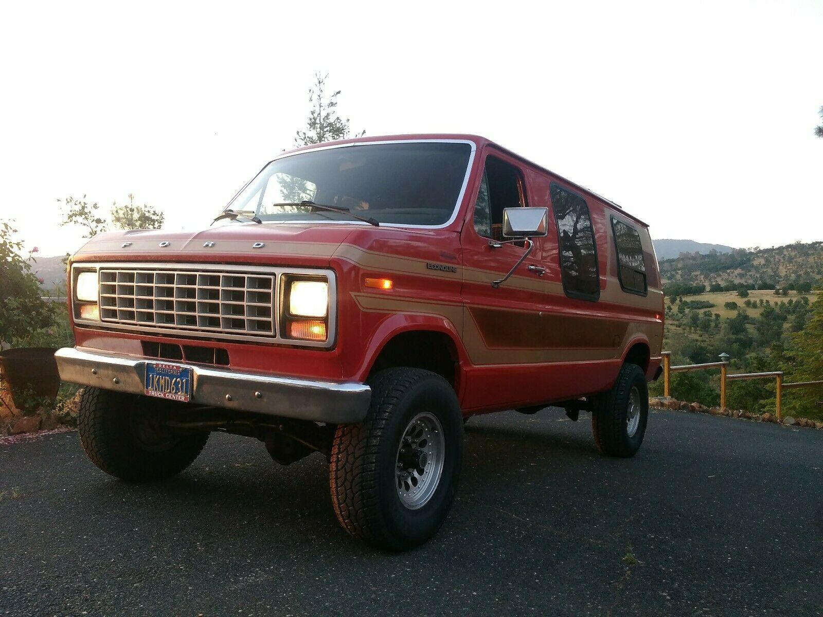 Van Go Wherever: This 1982 Ford Econoline Quadravan Beats An RV!