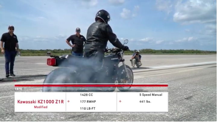 Old School Hustle: Ride on This 1978 KZ1000 For A Top Speed Test On A Florida Runway