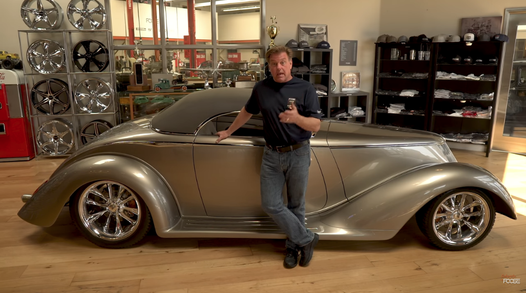 """Watch This In Depth Look At The Chip Foose Design Built """"Impression"""" Roadster"""